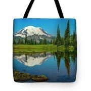 Majestic Reflection - Mount Rainier - 2 Tote Bag