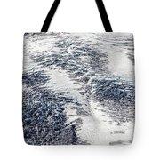 Mount Rainier Glacier Abstract Tote Bag