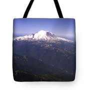 Mount Rainier Washington State Tote Bag