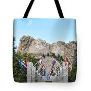Mount Rushmore Entrance  8713 Tote Bag