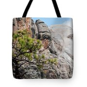 Mount Rushmore George Washington Landscape Tote Bag