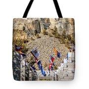Mount Rushmore Grand View Terrace Tote Bag