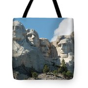 Mount Rushmore Monument Tote Bag