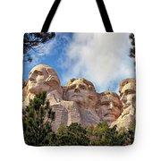Mount Rushmore National Memorial In The Black Hills Of South Dakota  Tote Bag by Sam Antonio Photography