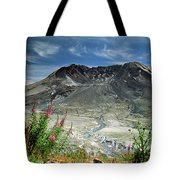 Mount Saint Helens Caldera Tote Bag