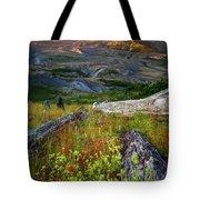 Mount Saint Helens Tote Bag