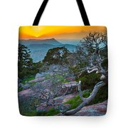 Mount Scott Sunset Tote Bag