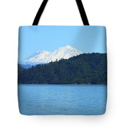 Mount Shasta And Shasta Lake Tote Bag
