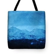 Mount Shasta Twilight Tote Bag