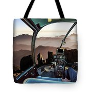 Mount Sinai Helicopter Tote Bag