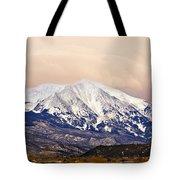 Mount Sopris Tote Bag