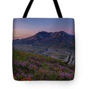 Mount St Helens Spring Colors Tote Bag