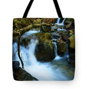 Mount Tam Waterfall Tote Bag