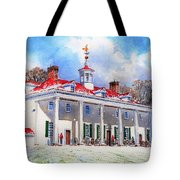 Mount Vernon After The Squall Tote Bag