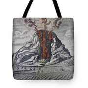 Mount Vesuvius, 1665 Tote Bag