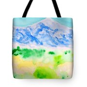 Mount Whitney Tote Bag