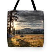 Mountain Afternoon Tote Bag