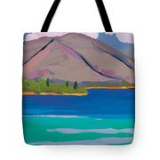 Mountain And Pines Tote Bag