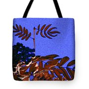 Mountain Ash Design Tote Bag