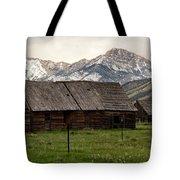 Mountain Barn Tote Bag