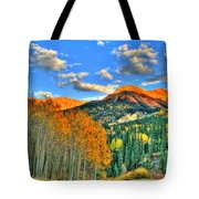Mountain Beauty Of Fall Tote Bag