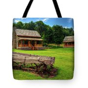 Mountain Cabin - Rural Idaho Tote Bag