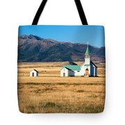 Mountain Chapel Tote Bag