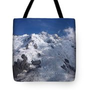 Mountain Cloud Scape Tote Bag