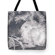 Mountain Cottontail Tote Bag