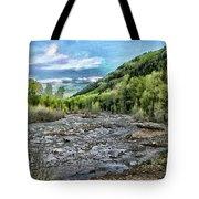 Mountain Creek Tote Bag