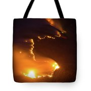 Mountain Fire Tote Bag