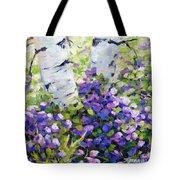 Mountain Flowers Tote Bag