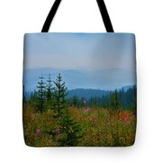 Mountain Flowers Tote Bag
