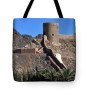 Mountain Fort Tote Bag