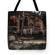 Mountain Garden Tote Bag