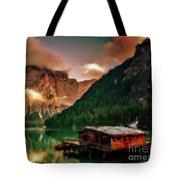 Mountain Getaway Tote Bag