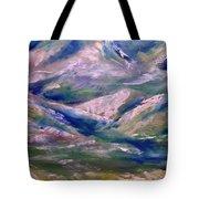 Mountain Gorge Italian Alps Tote Bag
