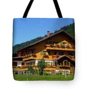 Mountain Guesthouse H B Tote Bag