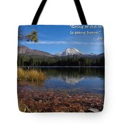 Mountain Home Tote Bag