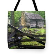 Mountain Homestead Tote Bag