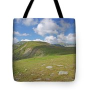 Mountain In Summer Tote Bag
