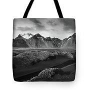 Icelandic Mountain  Landscape Tote Bag