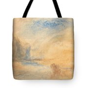 Mountain Landscape With Lake Tote Bag