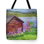 Mountain Laurel By The Cabin Tote Bag