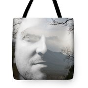 Mountain Man Tote Bag