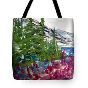 Mountain Meadow Wash Tote Bag