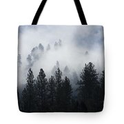 Mountain Mist Tote Bag