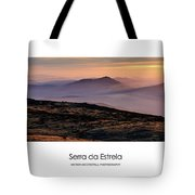 Mountain Mist Poster Tote Bag