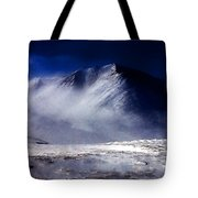 Mountain Of Alaska Tote Bag