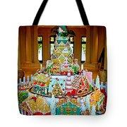 Mountain Of Christmas Cheer Tote Bag